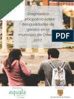Diagnóstico Desigualdades de Género en Orkoien (2017 castellano)