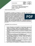 Plan de Área Info- 2015
