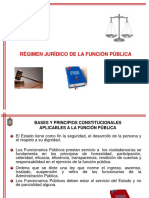 Estatuto de La Funcion Publica
