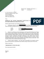 Surat Jemputan Pengarah Jpn