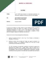 Informe Modificación Legal, Permiso de Matrimonio