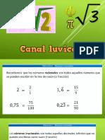 IRRACIONALES CANALLUVICON