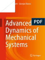 Cheli ~ Advanced Dynamics of Mechanical Systems