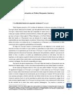 RODRIGUEZ — Proceso de Alegorización en Walter Benjamin