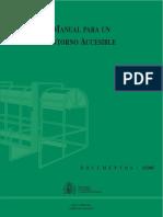 Manual Para Un Entorno Accesible, Real Patronato Sobre Discapacidad, Ministeio de Trabajo y Asuntos Sociales, España
