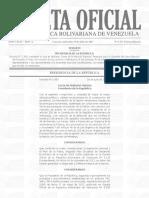 Gaceta Declaran Zonas de Proteccion Especial Para Garantizar Voto El 30J