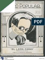 Ernesto Herrera - El León Ciego