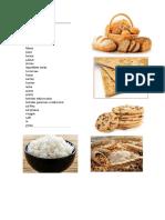 Alimentos de La Piramide Alimenticia