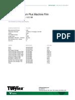Tufflex Premium Plus Machine TDS CA En