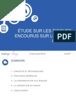 Etude HADOPI Risques Encourus Sur Les Sites Illicites