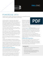 PowerEdge VRTX Spec Sheet