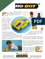 Pro-Bot Product Sheet