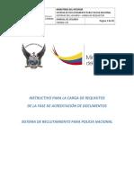 2017 Julio Carga Requisitos