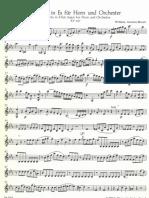 05 Mozart - Hornkonzert 3 - Violine 1