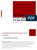 Pre Bar Labor Standards 1