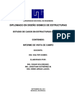 Informe de Visita de Campo MADERA