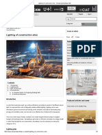 Lighting of Construction Sites - Designing Buildings Wiki