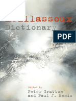 Meillassoux Dictionary