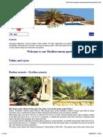 Welcome to Our Mediterranean Garden