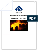 279999087-An-industrial-vist-report-on-Durgapur-Steel-Plant.doc