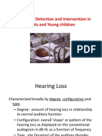 Early Hearing Detection and Intervention in Infants And