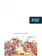 24 de Mayo Batalla Del Pichincha