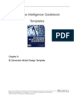 BIGuidebook Templates - BI Logical Data Model - Preliminary Design