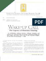 IGN Bulletin 44 Wake Up Call