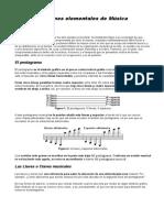 Nociones Elementales Musica