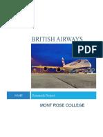 Training and Development Within British Airways