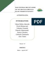Pueblos y Nacionalidades
