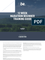 Trainingguide Marathon Beginner12 Week