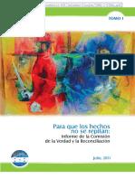 Inf Comision de La Verdad Honduras