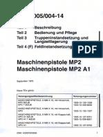 German Maschinenpistole Mp2-Mp2a