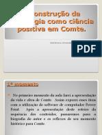A Construção Da Sociologia Como Ciência Positiva Em Comte-1