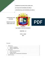 Informe Cierre