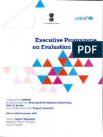 Executive Training on Evaluation Methods 2