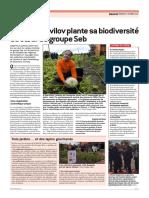 Le Progrès - Jardin Vavilov