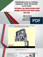 Sistemas de Inyeccion Por Bomba Inyector, HEUI MEUI UPS UIS