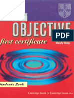 English - Objective First Certificate Cambridge