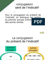 Presente Indicativo Frances
