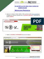 Manual Pre-matricula en Linea - Presencial