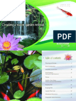 Creating a Water Garden Retreat Brochure)