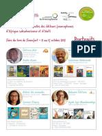 Portraits Editeurs Francophones Francfort 2017