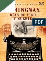 Atkinson, Michael - Hemingway, dias de vino y muerte [38255] (r1.0).epub