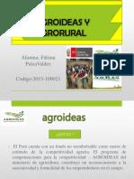 Agroideas y Agrorural