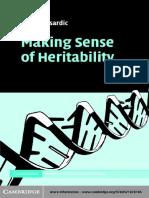Sesardic Neven -  Making Sense of Heritability