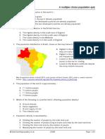 Population Quiz