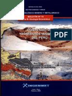 Compendio de Yacimientos Minerales Del Perú Pedro Hugo Tumialán