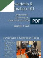 Power Train Calibration